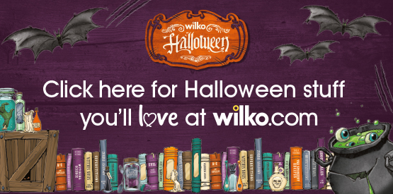 Click here for Halloween Stuff you'll love at Wilk