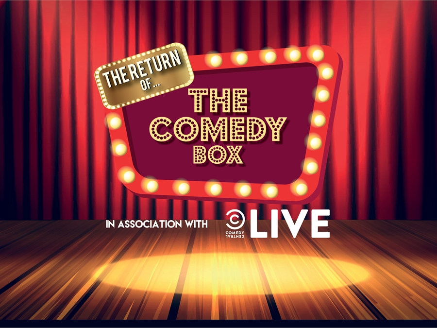 The Return of The Comedy Box - LIVE STAND UP COMEDY