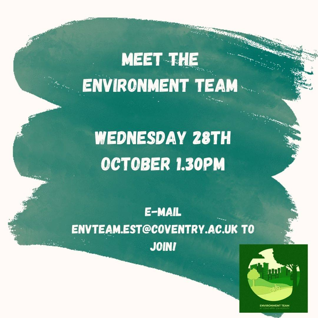 Meet the University's Environment Team!