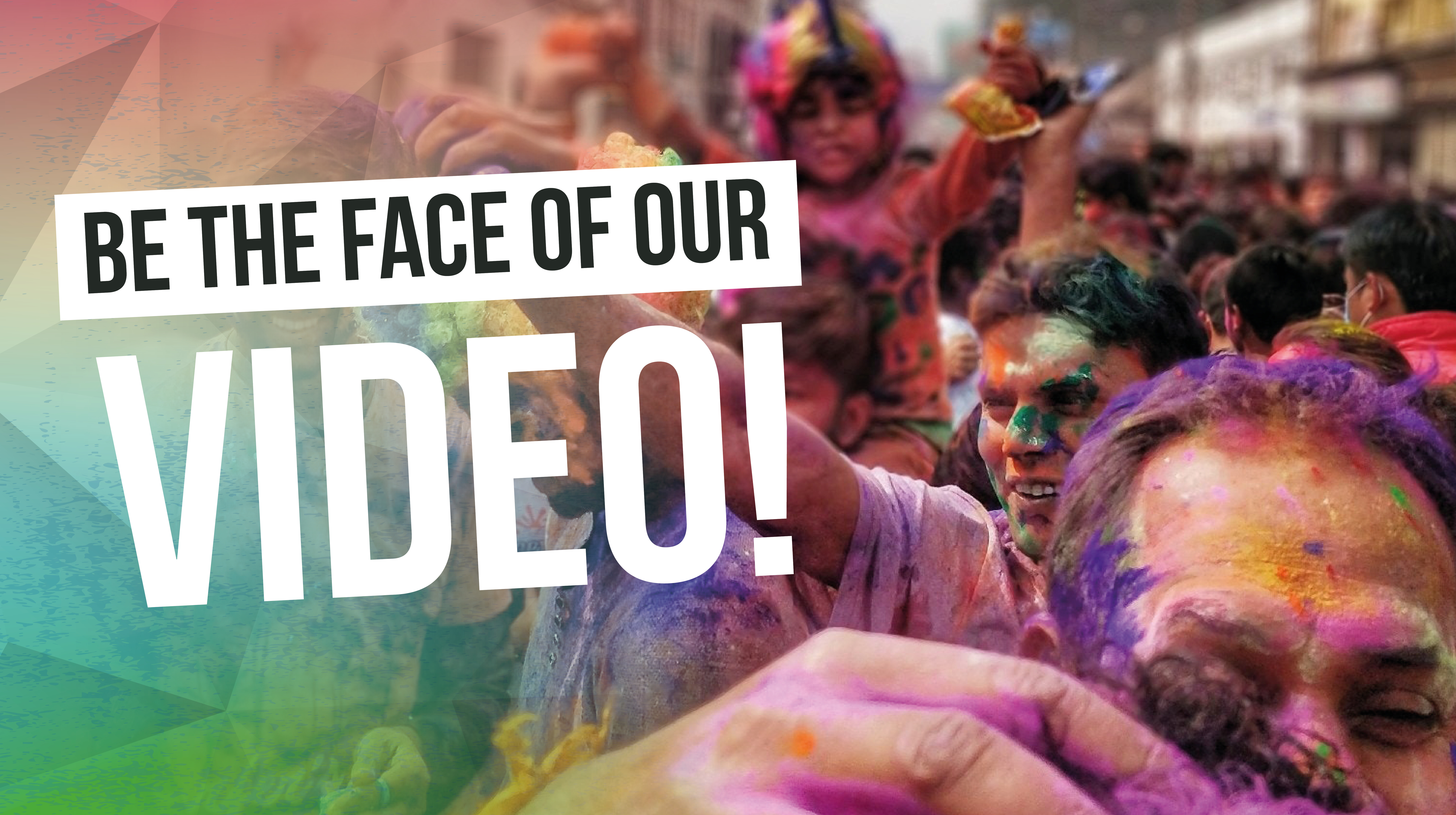 Be the face of CUSU's Welcome Festival 2018
