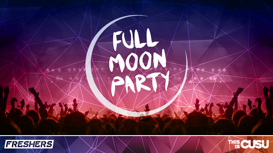 Official Coventry University Freshers UV Full Moon Party