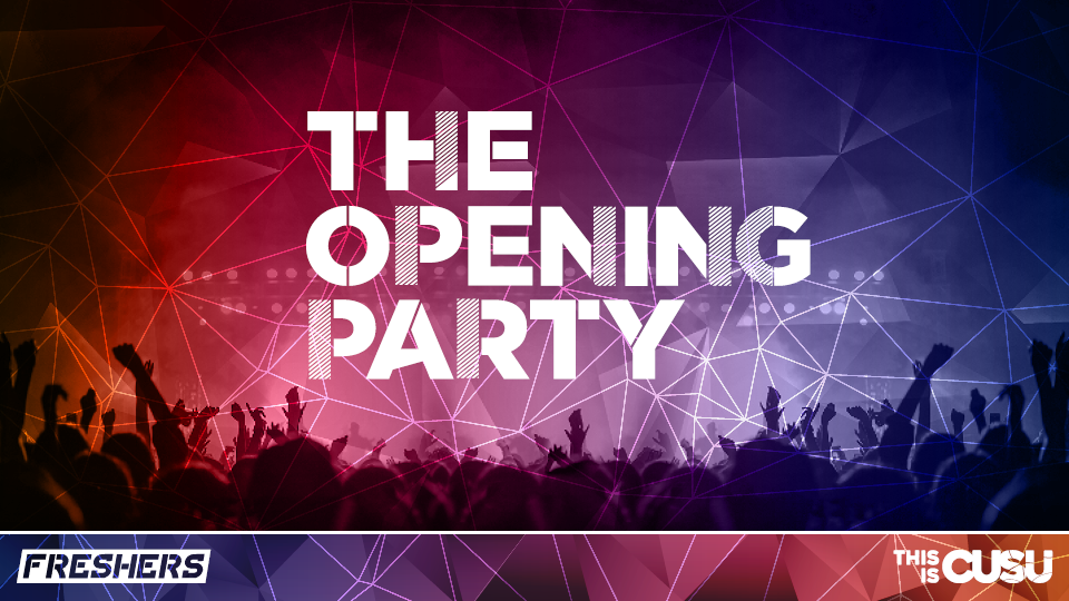 Official Coventry University Freshers Opening Party