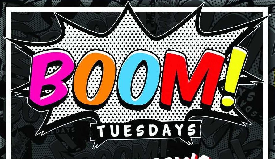 Boom! Tuesdays at JJ's