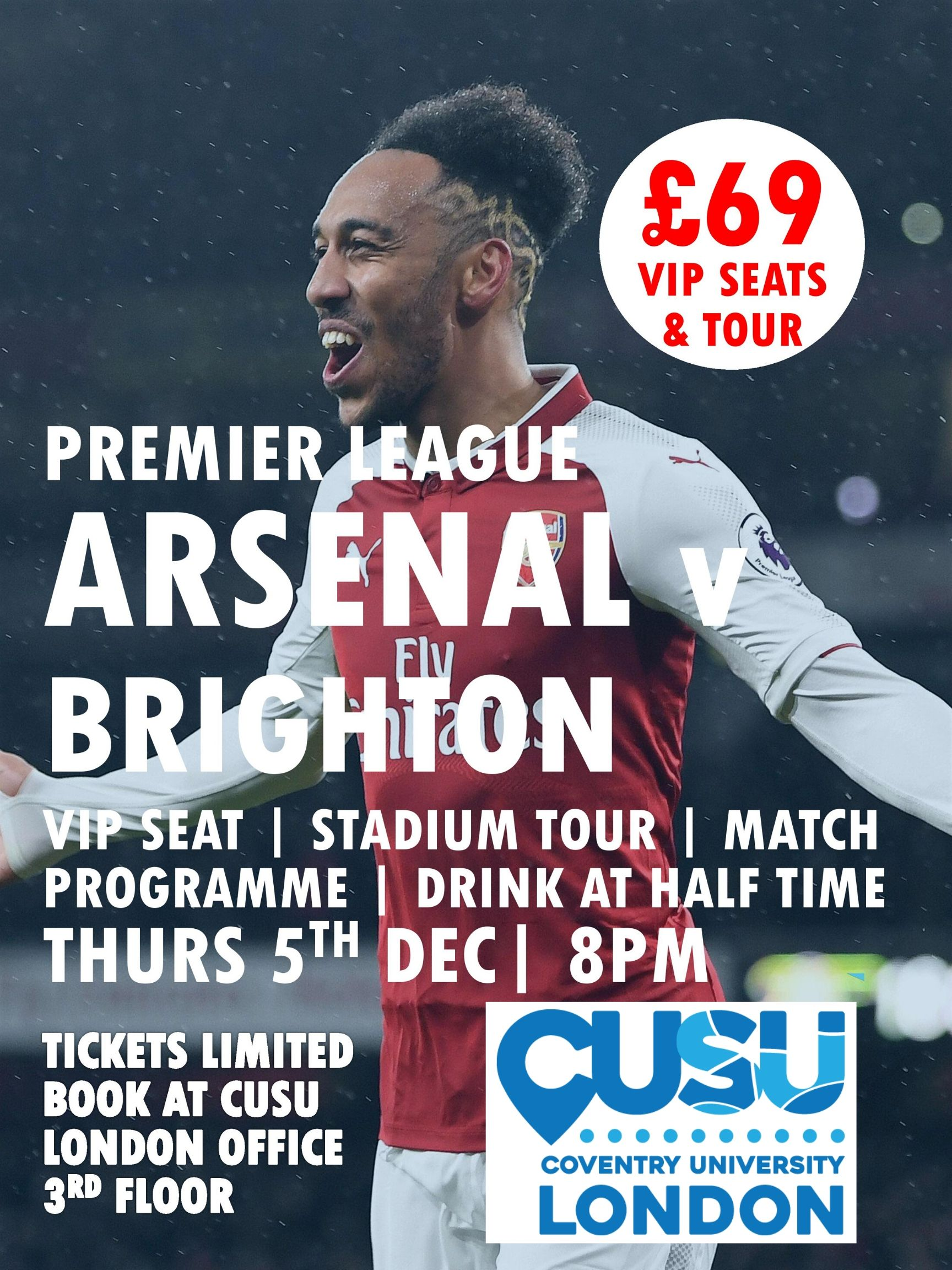 Arsenal vs Brighton Premier League Match