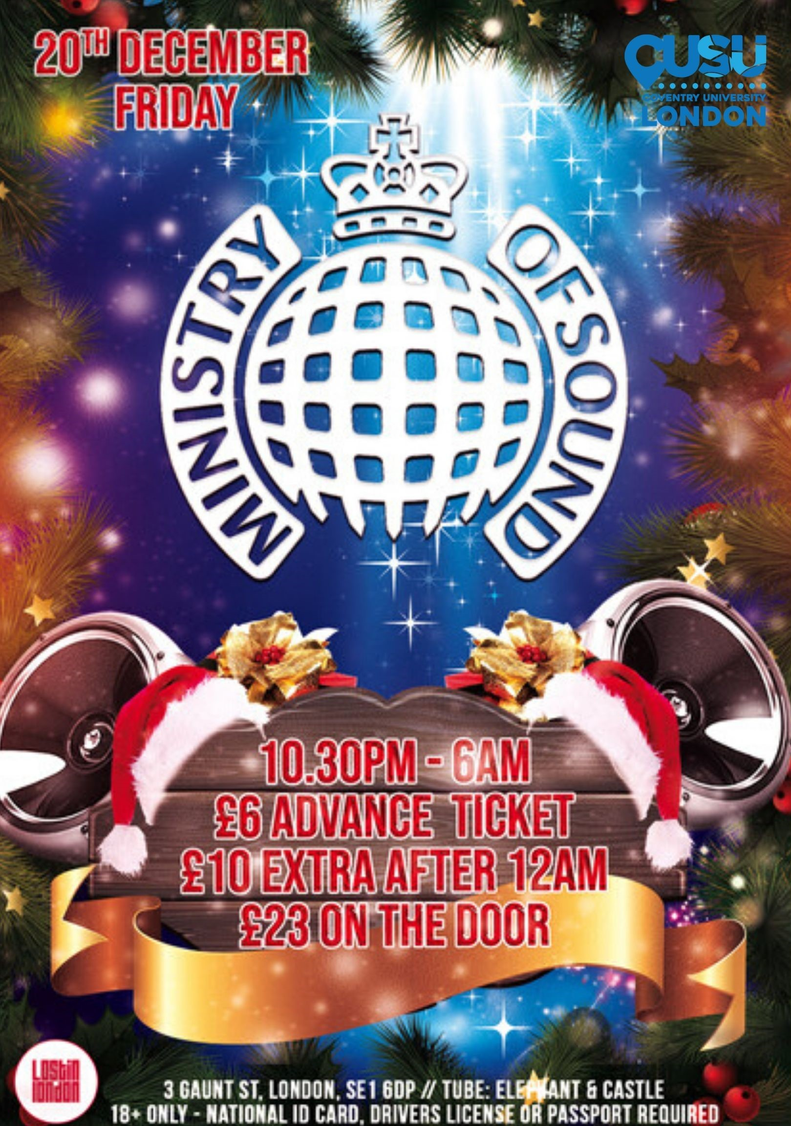 Ministry of Sound Winter Party!