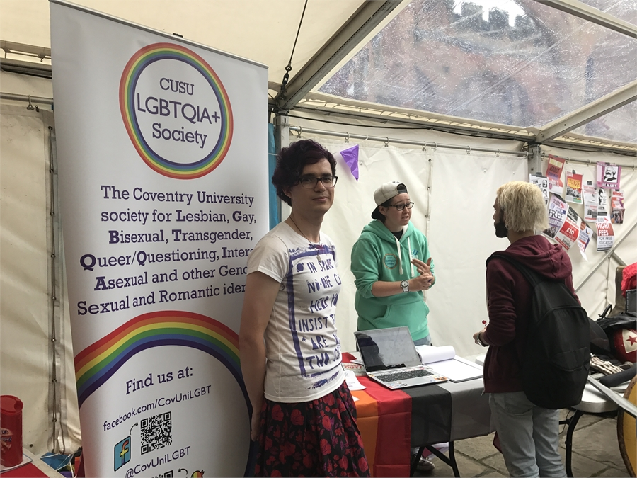 LGBT+ History Month Information Fair
