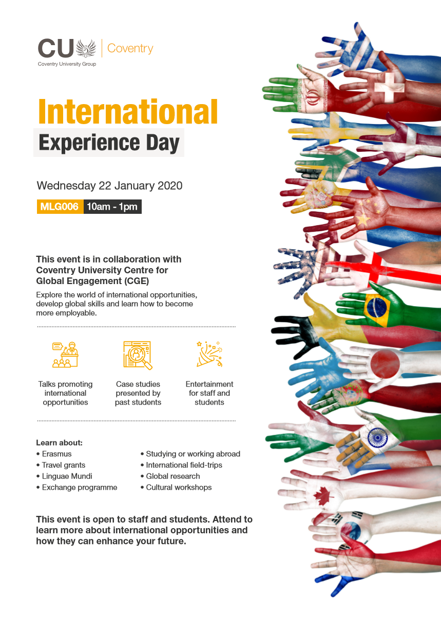 International Experience Day - A CGE Event