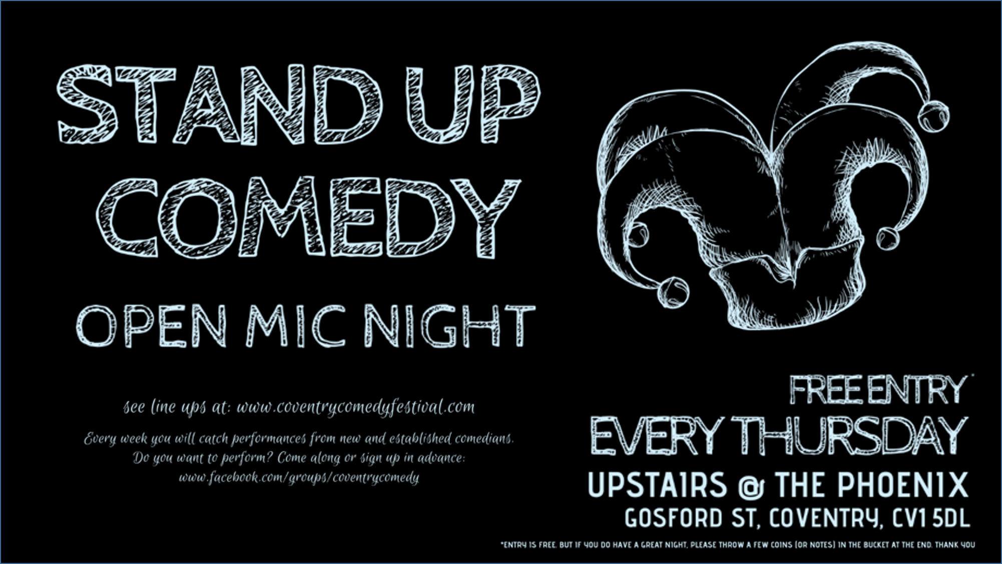 STAND UP COMEDY - Open Mic Night