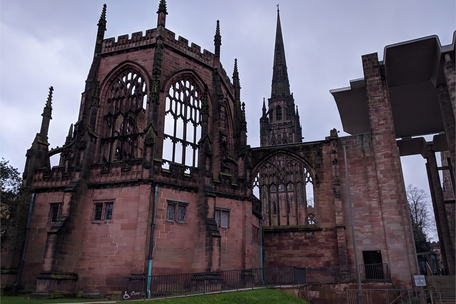 55ada9b47e76f Old Coventry Cathedral