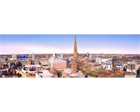 Coventry City Skyline from the Cathedral Tower