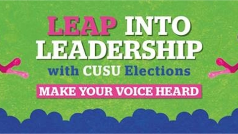 Image showing the leap into leadership logo