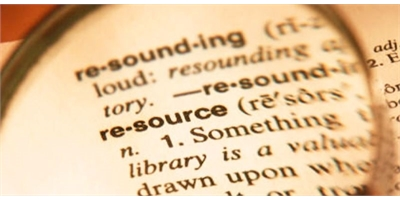 Resource dictionary definition