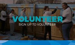 sign up to volunteer link