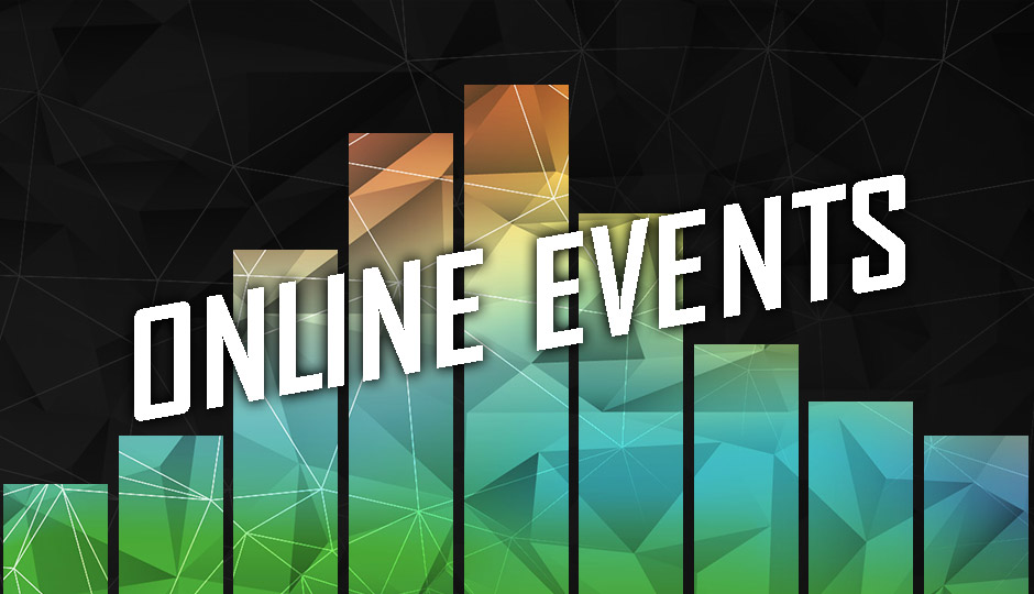 Online Events graphic