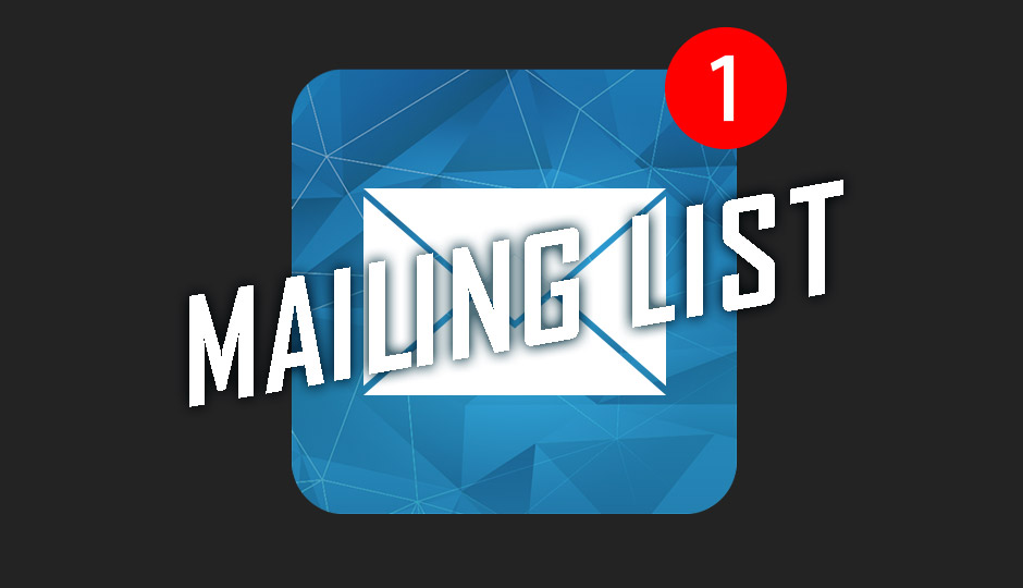 The Mailing List graphic