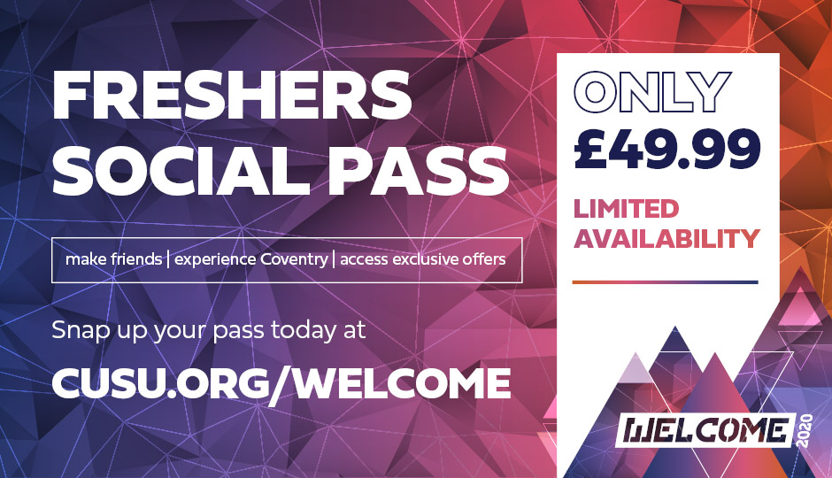 Buy your Social Pass now for just £49.99